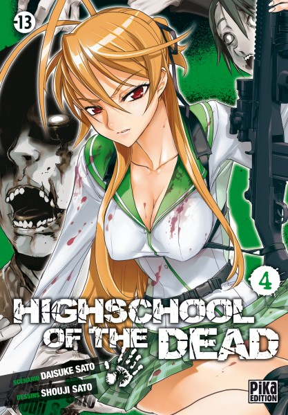 Gakuen Mokushiroku HIGHSCHOOL OF THE DEAD - Vol. 4