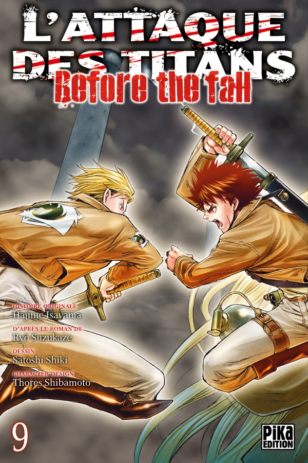 Shingeki no kyojin - before the fall - Volume 1