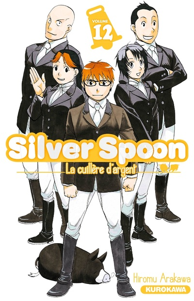 Gin no Saji - Silver Spoon - Vol. 12
