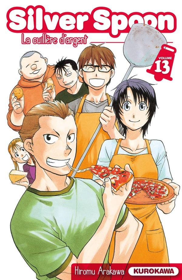 Gin no Saji - Silver Spoon - Vol. 13