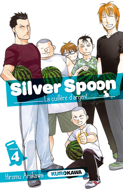 Gin no Saji - Silver Spoon - Vol. 4